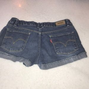 Levi's Shorts - Girls Levi jean shorts, size 14